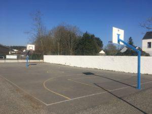 Terrain de basket - Ecole Saint Joseph de Saint Gildas des Bois - 44