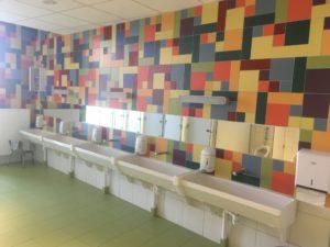 Sanitaires Maternelles et CP - Ecole Saint Joseph de Saint Gildas des Bois - 44