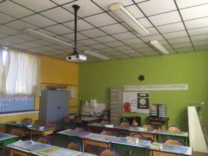 Vidéoprojecteur CM1-CM2 - Ecole Saint Joseph de Saint Gildas des Bois - 44